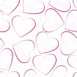 Royalty-Free Stock Vector Image: Seamless valentine-s day background