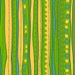 Green and yellow lines — Image vectorielle