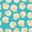 Sea vector seamless pattern — Vettoriali Stock