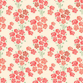 Abstract Elegance seamless floral pattern — Stock Vector