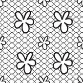 Seamless lace pattern — Stock Vector