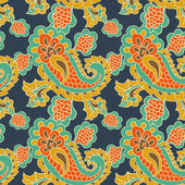 Paisley seamless background — Vector de stock