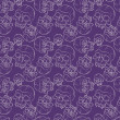 Seamless pattern with skulls — Stock Vector #32025119