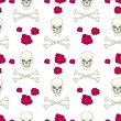 Seamless pattern with skulls — Stock Vector #33474041