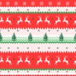 Seamless Christmas pattern — Stock Vector #35917729