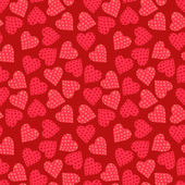 Seamless valentine's day background — Stock Vector
