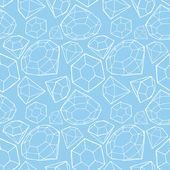 Seamless diamond pattern — ストックベクタ