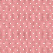 Rosa gepunkteten lacy nahtlose muster — Stockvektor
