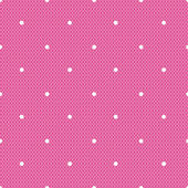 Pink dotted lacy seamless pattern — Wektor stockowy