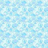 Seamless diamond pattern — Stock Vector