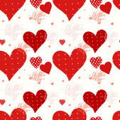 Seamless valentine's day background — Vecteur