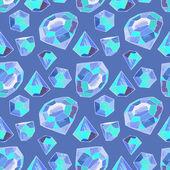Vector glamour diamond background — Stock Vector