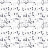 Naadloze formule achtergrond — Stockvector