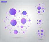 Molekül yapısı — Stok Vektör