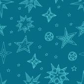 Hand drawn stars — Stock Vector