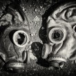 Gas masks. — Stock Photo