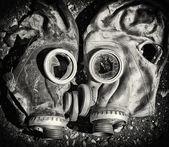 Gas masks. — Stock Photo