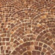 Arched brick background pattern — Stock Photo