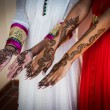 Stock Photo: Henna Tattoos