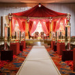Stock Photo: Indiwedding mandap ceremony