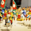 Army and horses of the three kingdoms period — Stockfoto