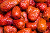 Dried jujube fruits — Stock Photo