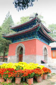 North imperial tablet pavilion in Dajuesi temple, beijing, china — ストック写真