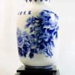 Close-up of blue and white china — Stock Photo #40275273
