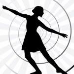 Ballerina motion — Stock Vector #27717343