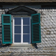 Stock Photo: Attic window