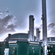 Biogas plant — Stock Photo #15423491