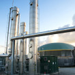 Biogas plant — Stock Photo #15423531