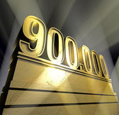 Number 900.000 — Stock Photo