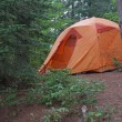 Algonquin Orange Tent — Stock Photo