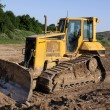 Stock Photo: Small Bulldozer