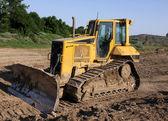 Små bulldozer — Stockfoto