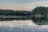 Muskoka Moon Rise — Stock Photo