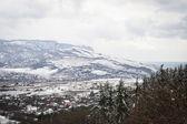 Slight snow in mountains — Foto Stock