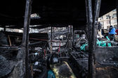 Anti-government protests outbreak Ukraine — Stock Photo