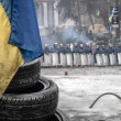 Euromaidan anti-government protests Ukraine — Stock Photo #41343713