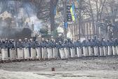 Euromaidan anti-overheid protesten oekraïne — Stockfoto