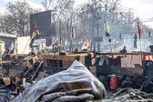 Euromaidan 反政府抗议活动的乌克兰 — 图库照片
