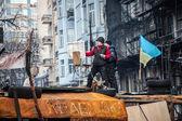 Euromaidan contra el gobierno protestas en ucrania — Foto de Stock