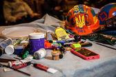 Euromaidan αντι-κυβέρνηση διαμαρτυρίες Ουκρανία — Photo