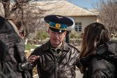 Belbek military base ?4515 in Crimea, Ukraine — Stock Photo