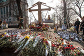 Värdighet revolution - euromaidan kiev, ukraina — Stockfoto