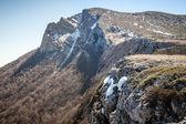 Spring in Crimean mountains — Stock Photo