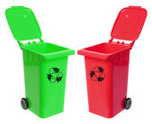 Garbage Bins — Stock Photo