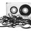 cassette tape — Stock Photo