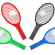 Stock Photo: Toy Rackets